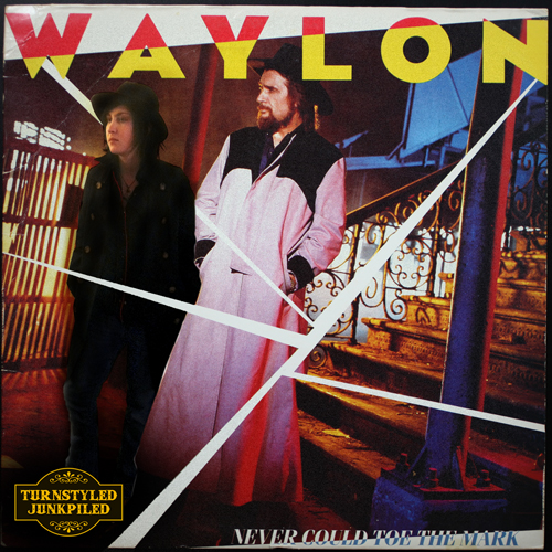 Buffalo Badass can't toe the mark or walk the line, but she's in good company with Waylon Jennings circa 1984.