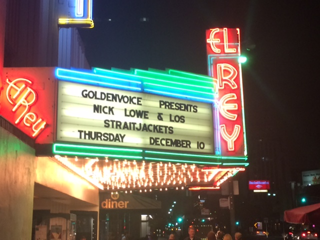 Nick Lowe's Quality Holiday Revue Stops Through LA