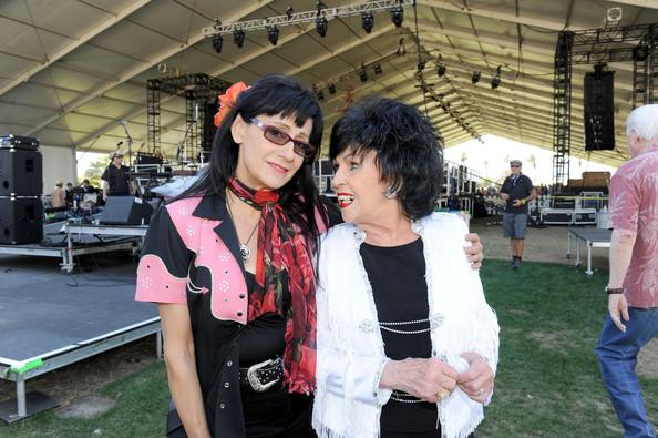 Wanda Jackson and Rosie Flores