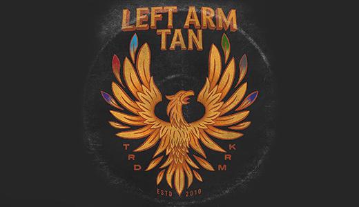 Left Arm Tan Rides Again